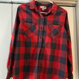Old navy plaid shirt